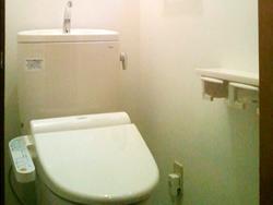 節水性の高いトイレ