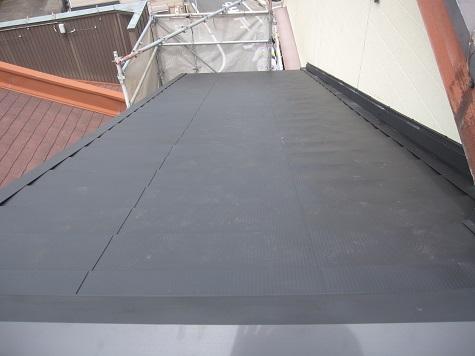屋根修繕工事施工後