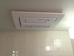 浴室暖房乾燥機のお取り換え