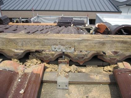 芯材の腐った垂木