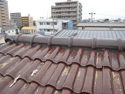 屋根修繕工事完成