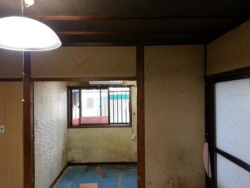 垂れ壁撤去施工前