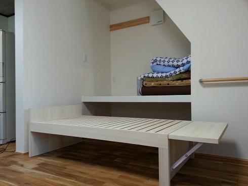 伸長式ベッド