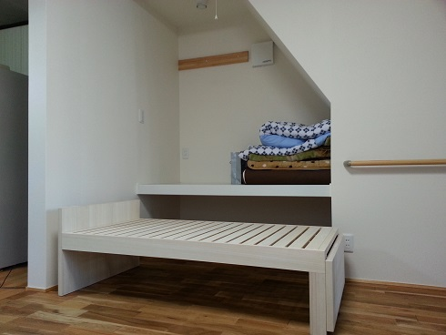 収納可能なベッド