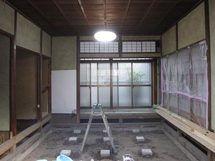 戸建リノベーション施工前