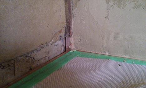 土壁補修箇所