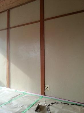 聚楽壁塗り替え完成
