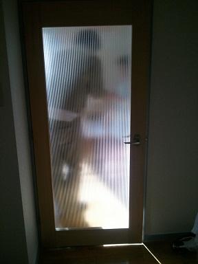 閉めたドア