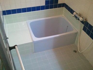浴槽取替施工後