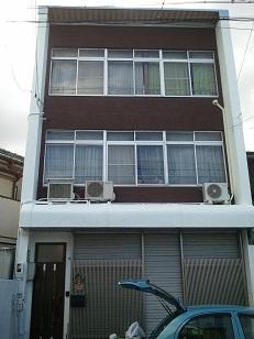外壁塗装と防水工事後